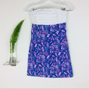 Lilly Pulitzer Gorgeous Tube Mini Dress Size (00)